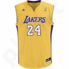 Marškinėliai krepšiniui Adidas Lakers Kobe Bryant L69778