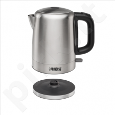 Princess 236001 Kettle, 1,7L, Brushed Stainless Steel