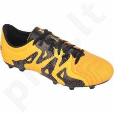 Futbolo bateliai Adidas  X 15.3 FG/AG Leather Jr S32061
