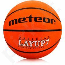 Krepšinio kamuolys Meteor Layup 7 07055