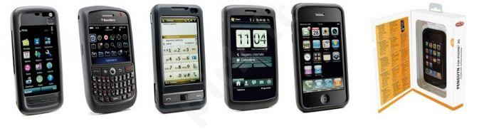 Samsung Galaxy Ace dėklas PENGUYN Cellular juodas