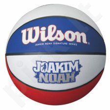 Krepšinio kamuolys Wilson Joakim Noah Tricolor WTP000216