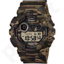 Casio G-Shock GD-120CM-5DR vyriškas laikrodis-chronometras