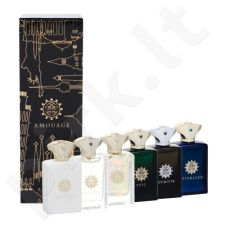 Amouage miniatiūra Modern Collection Man rinkinys vyrams, (6x 7,5 ml EDP Beloved + Epic + Memoir + Honour + Interlude + Fate)