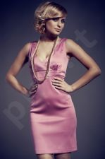 Suknelė M051 rožinio atspalvio