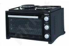 Elektrinė orkaitė SATURN ST-EC1072 Black 36 litrai