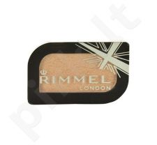 Rimmel London Magnif Eyes Mono akių šešėliai, kosmetika moterims, 3,5g, (014 Black Fender)