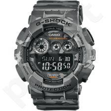 Casio G-Shock GD-120CM-8DR vyriškas laikrodis-chronometras