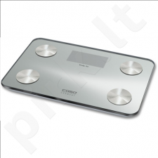 Caso Body Fit Scales, Weight: max 150 kg, BMI Index, 10 person memory, Large digital display, Auto off, Foot sensor