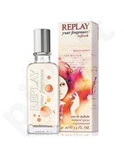 Replay your fragrance! Refresh, tualetinis vanduo (EDT) moterims, 40 ml (Testeris)