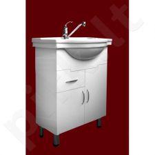 Vonios kambario spintelė su praustuvu M023