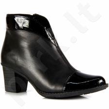 Rieker z7664-00 odiniai  auliniai batai  pašiltinti