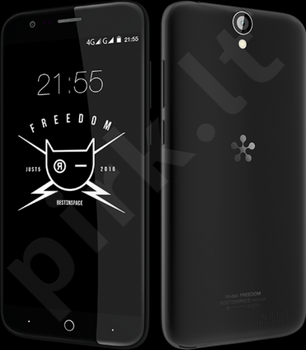 Telefonas Just5 Freedom X1 Dual SIM Juodas