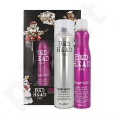 Tigi Bed Head plaukų apimčiai rinkinys moterims, (311ml Bed Head Superstar Queen For A Day purškiklis plaukams + 385ml plaukų lakas)