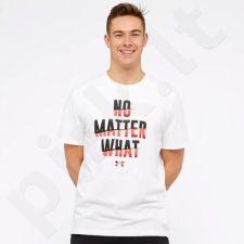 Marškinėliai Under Armour No Matter What SS M 1305664-100