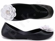 Balerinos moterims guminės su gėlėmis Zaxy