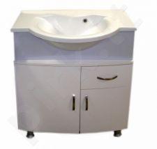 Vonios kambario spintelė su praustuvu MFG-056