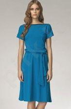 Suknelė S13 mėlyno atspalvio (XXL)