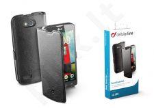 LG L80 dėklas BOOK ESSEN Cellular juodas