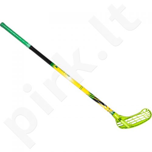 Grindų riedulio lazda Force One 95cm  kairė žalia