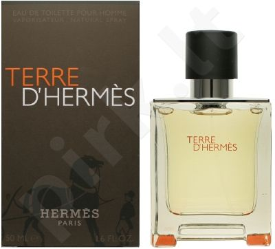 Hermes Terre D´Hermes, tualetinis vanduo vyrams, 50ml