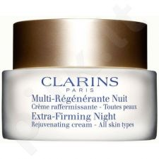 Clarins Extra Firming Night Rejuvenating kremas, kosmetika moterims, 50ml
