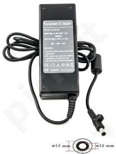 Notebook power supply SAMSUNG 220V, 90W: 19V, 4.74A