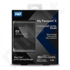 External HDD WD My Passport X 2.5'' 2TB USB3 Black