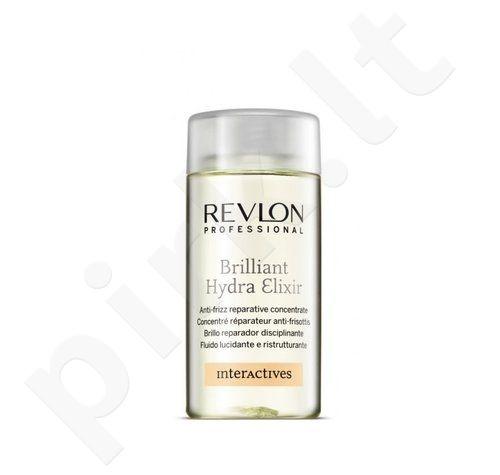 Revlon Interactives Brilliant Hydra Elixir, 125ml, plaukus drėkinantis eliksyras