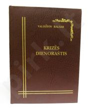 Knyga-Baras: Krizės dienoraštis
