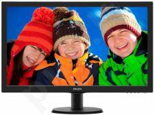 Monitorius Philips V-line 273V5LHAB 27'' LED FHD, HDMI, DVI, Garsiakalbiai
