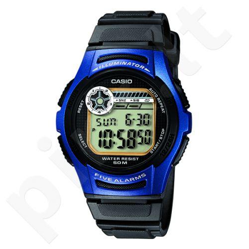 Vyriškas  elektroninis Casio laikrodis W-213-2AVES