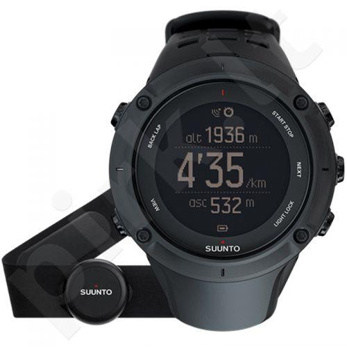 Vyriškas laikrodis SUUNTO AMBIT3 PEAK Black HR