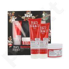 Tigi Bed Head atgaivinamasis plaukų rinkinys moterims, (250ml Bed Head atgaivinamasis šampūnas + 200ml Bed Head atgaivinamasis kondicionierius + 200g Bed Head atgaivinamoji kaukė plaukams)