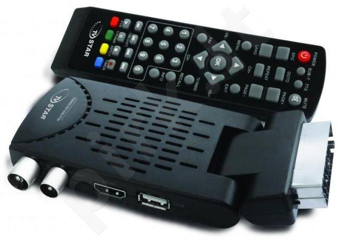 Skaitmeninės televizijos imtuvas TV Star T3000