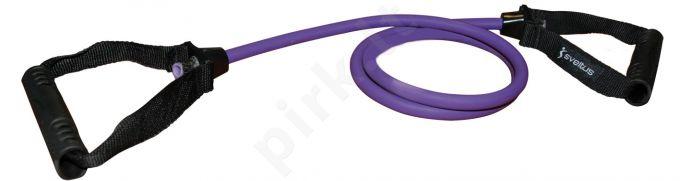 Lateksinė tampyklė su rankenomis, vidutinė, purpur