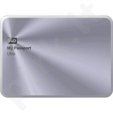External HDD WD My Passport Ultra Metal Edition 2.5'' 3TB USB3 Silver