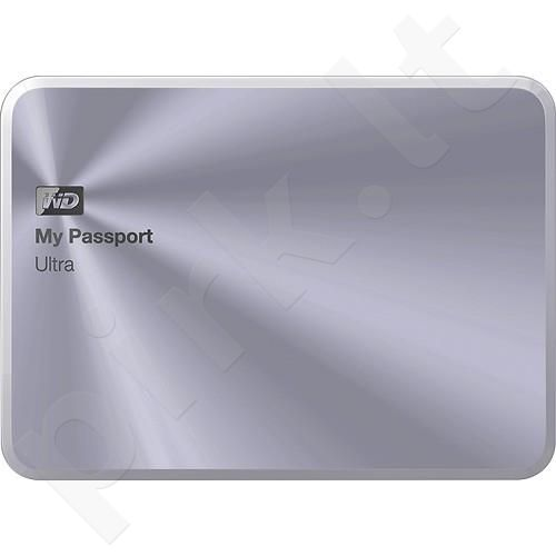 External HDD WD My Passport Ultra Metal Edition 2.5'' 3TB USB3 Silver