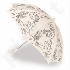 Vaikiškas skėtis - nusispalvink pats