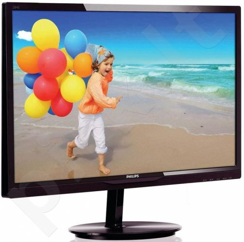 Monitorius Philips 284E5QHAD/00 28' MVA LCD, LED FHD, HDMI, MHL-HDMI, Cherry