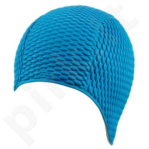 Kepuraitė plaukimui moterims gum-bubble 7300 6 blue