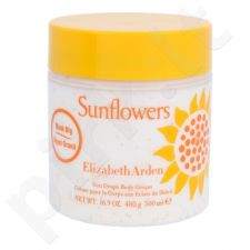 Elizabeth Arden Sunflowers, kūno kremas moterims, 500ml