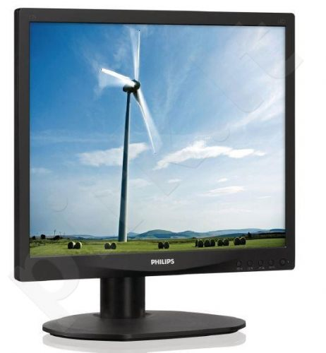 Monitor Philips S-line 17S4LSB/00 17'' LED, 5ms, DVI, black
