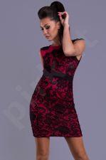 Emamoda suknelė - fuksija 6903-8