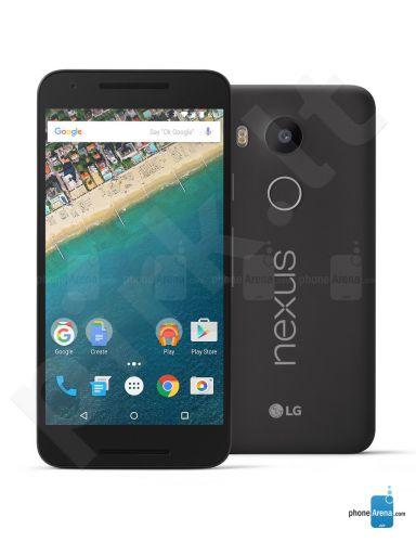 Telefonas LG Nexus 5X 16GB LGH791.ABALBK Carbon juodas