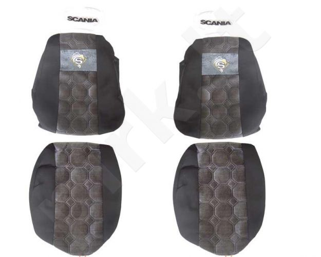 Sėdynių užvalkalai SCANIA 124, 114, 94 - N23