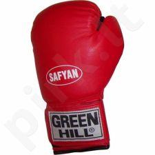 Bokso pirštinės Green Hill Safyan 14oz raudonos