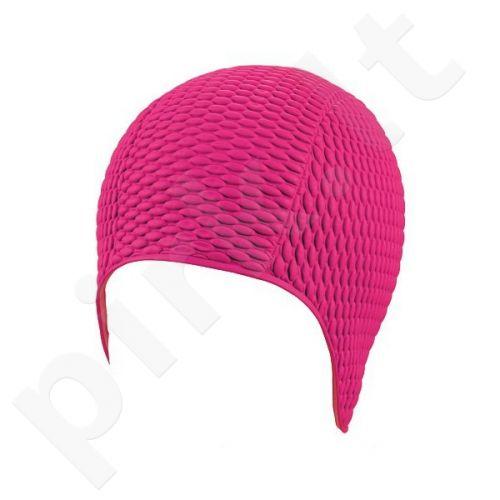 Kepuraitė plaukimui moterims gum-bubble 7300 4 pink