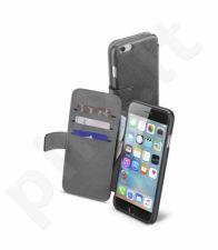 Apple iPhone 6/6S atverčiamas dėklas Agenda Cellular juodas
