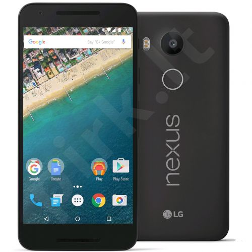 Telefonas LG Nexus 5X 32GB H791.A3BABK Carbon juodas